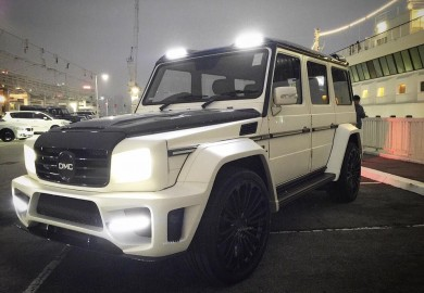 Mercedes-Benz G63 Zeus Body Kit Official Photos Released