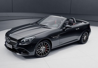 Optional Night Package Introduced For The Mercedes-Benz SLC