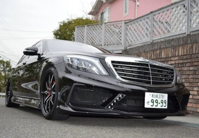 Grado Wheels Featured On The VITT Mercedes-Benz S-Class
