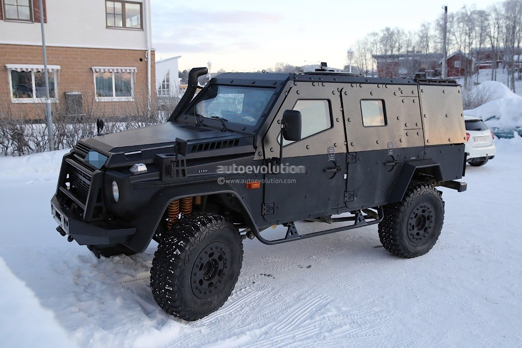 Light armored patrol vehicle spotted a for Mercedes benz military vehicles
