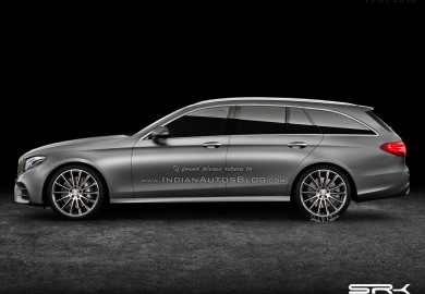 Mercedes-E-Class estate rendering