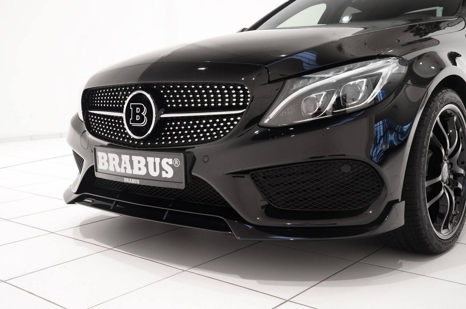 Presenting the brabus mercedes benz c450 amg 4matic for Mercedes benz brabus amg