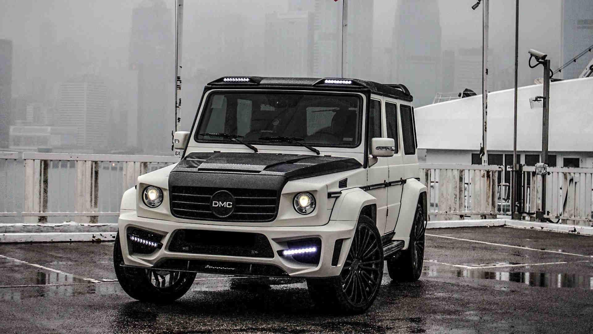 Mercedes G Wagon Carbon Fibre