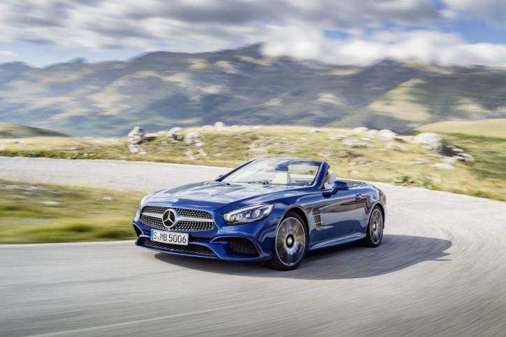 Mercedes-Benz SL 500 AMG Line