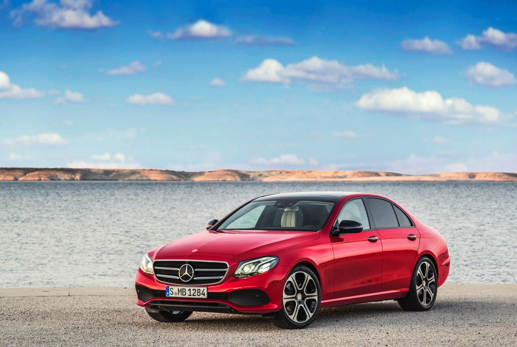 A look at the mercedes benz e class car to x technology for Mercedes benz latest technology