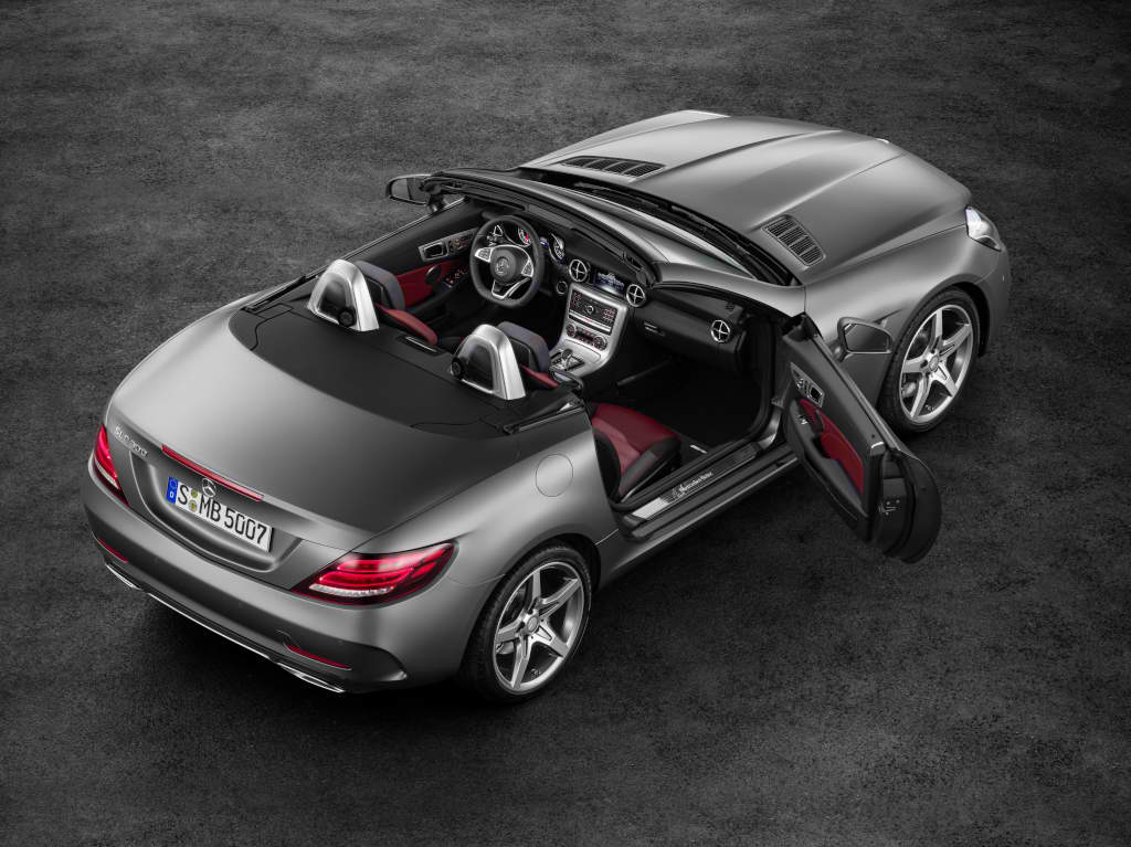 how much does the new mercedes benz slc cost