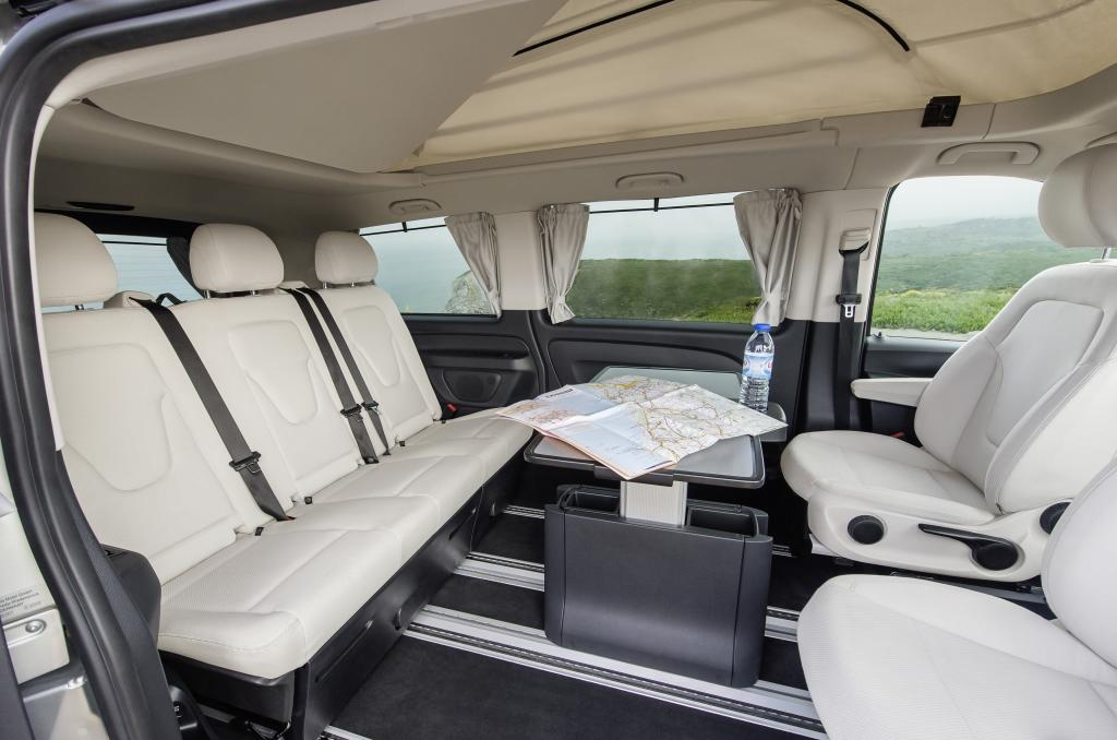New amg line mercedes benz v class rolls out in spring for Mercedes classe v interieur