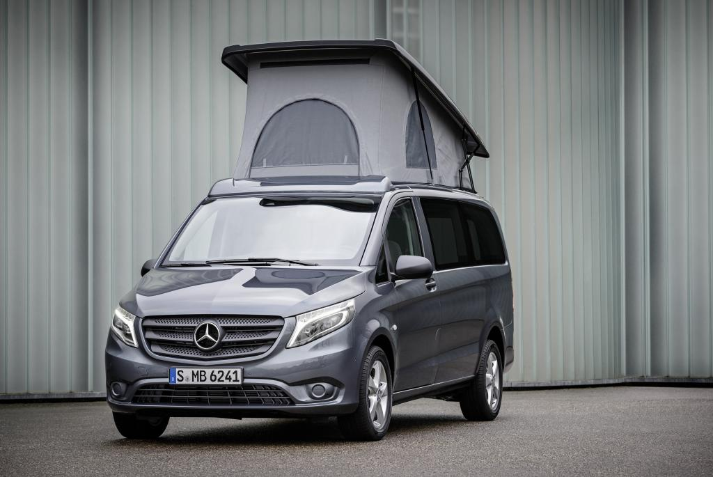 new amg line mercedes benz v class rolls out in spring. Black Bedroom Furniture Sets. Home Design Ideas