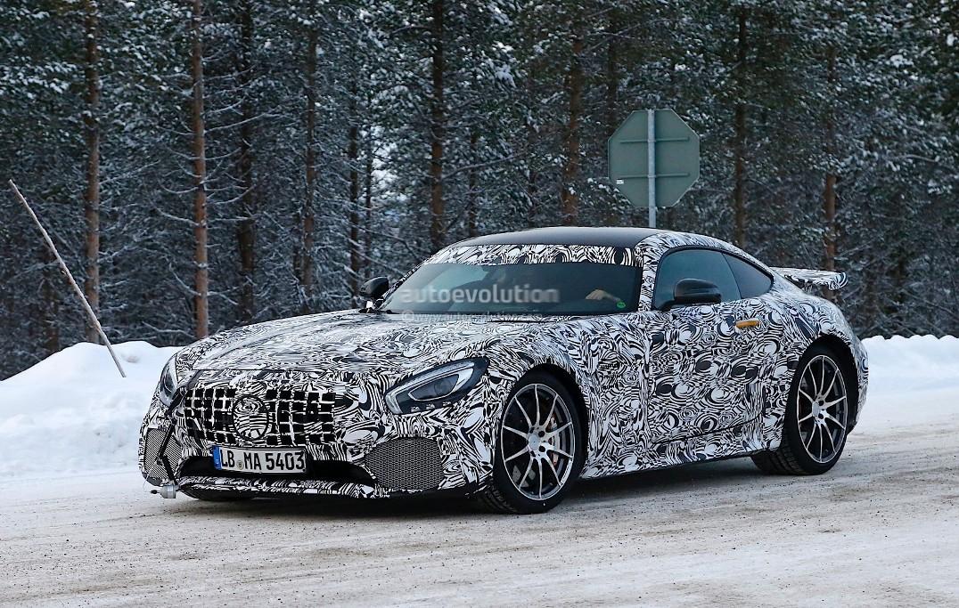 Mercedes-AMG GT-R Caught On Cam Again