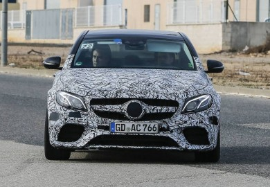 Latest Spy Shots Of 2018 Mercedes-AMG E63