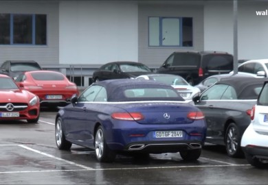 Undisguised Mercedes-Benz C-Class Cabriolet Spotted Again