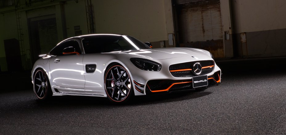 Wald Offers Black Bison Body Kit For The Mercedes-AMG GT
