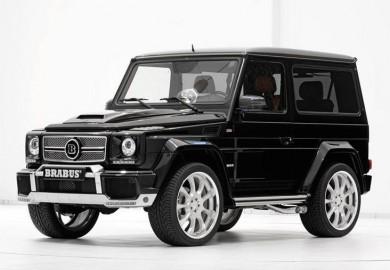 Brabus Tunes Mercedes-Benz G500 SWB