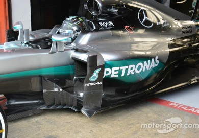 Innovative Bargeboards Used On New Mercedes-AMG F1 W07