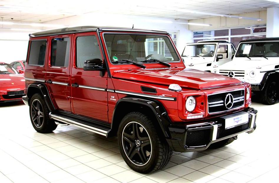 Tomato Red Mercedes-Benz G63 AMG Available In The Market