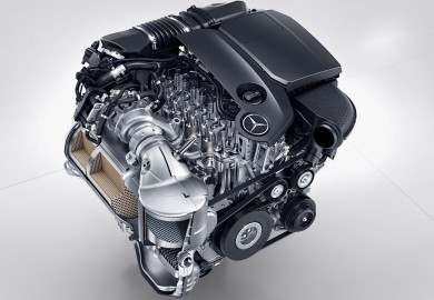 Details Of Four-Cylinder Turbo- Diesel Engine Revealed By Mercedes-Benz
