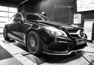 Mcchip-DKR Enhances Engine Of Mercedes-Benz E-Class Cabriolet