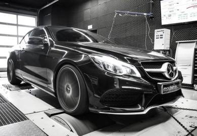 Mcchip-DKR Enhances Engine Of Mercedes-Benz E-Class Cabriolet