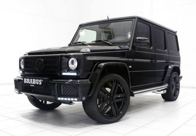 Latest Brabus-Tuned Mercedes-Benz G500