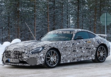 Mercedes-AMG GT-R Caught On Cam Again