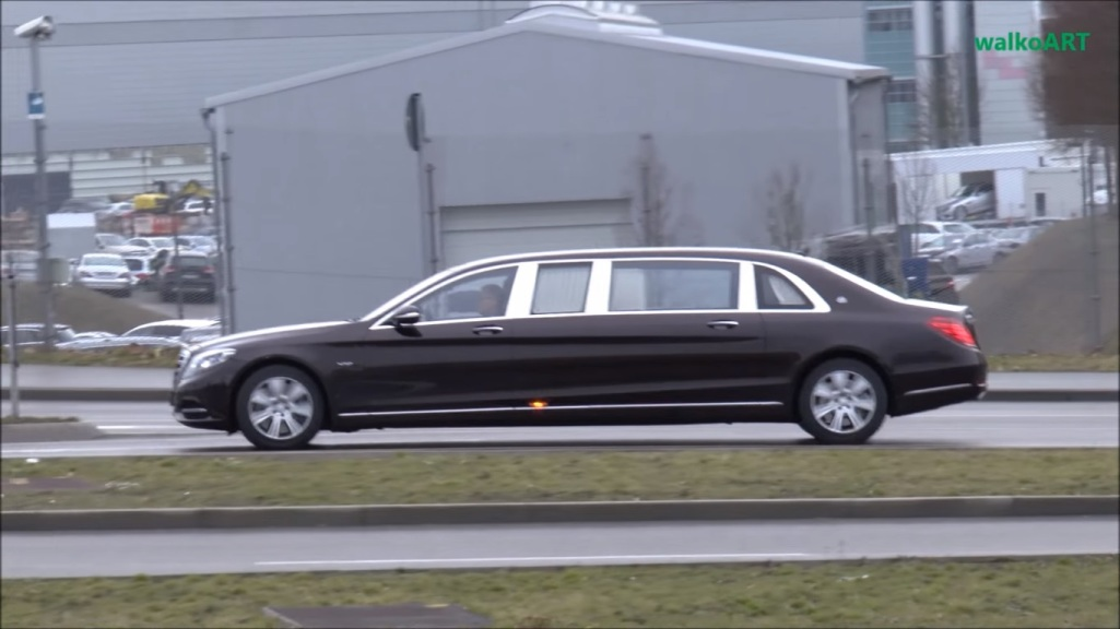 armored mercedes-maybach s600 – motorcove :