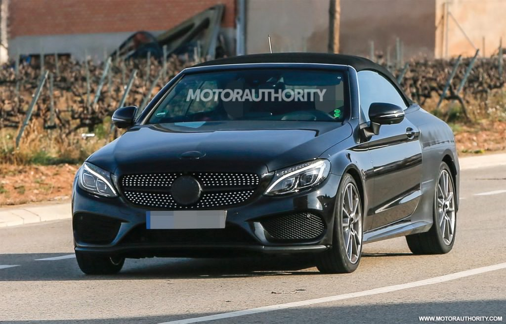 Mercedes amg c43 cabriolet spied for 2017 mercedes benz amg c43 convertible