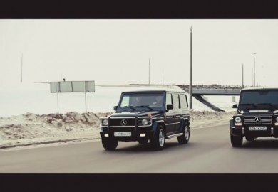 Mercedes-Benz G-Class Battle In Russia