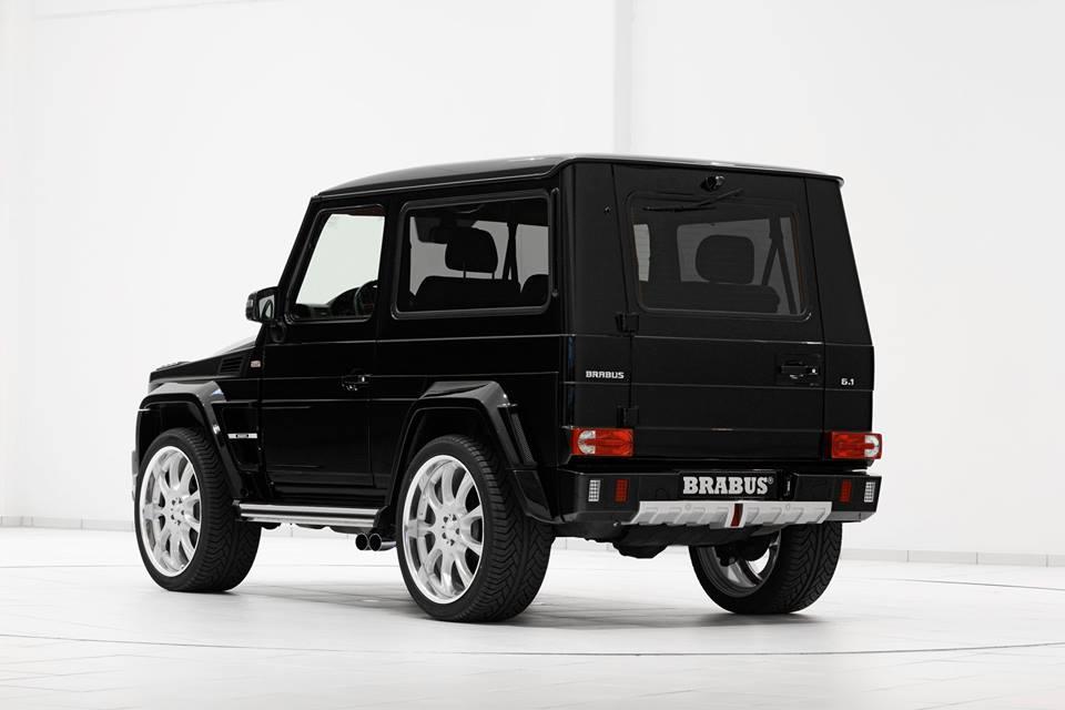 Brabus Tunes Mercedes-Benz G500 SWB - BenzInsider com - A