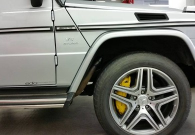 Actual Images Of Mercedes-Benz G63 AMG With Ceramic Brakes Released
