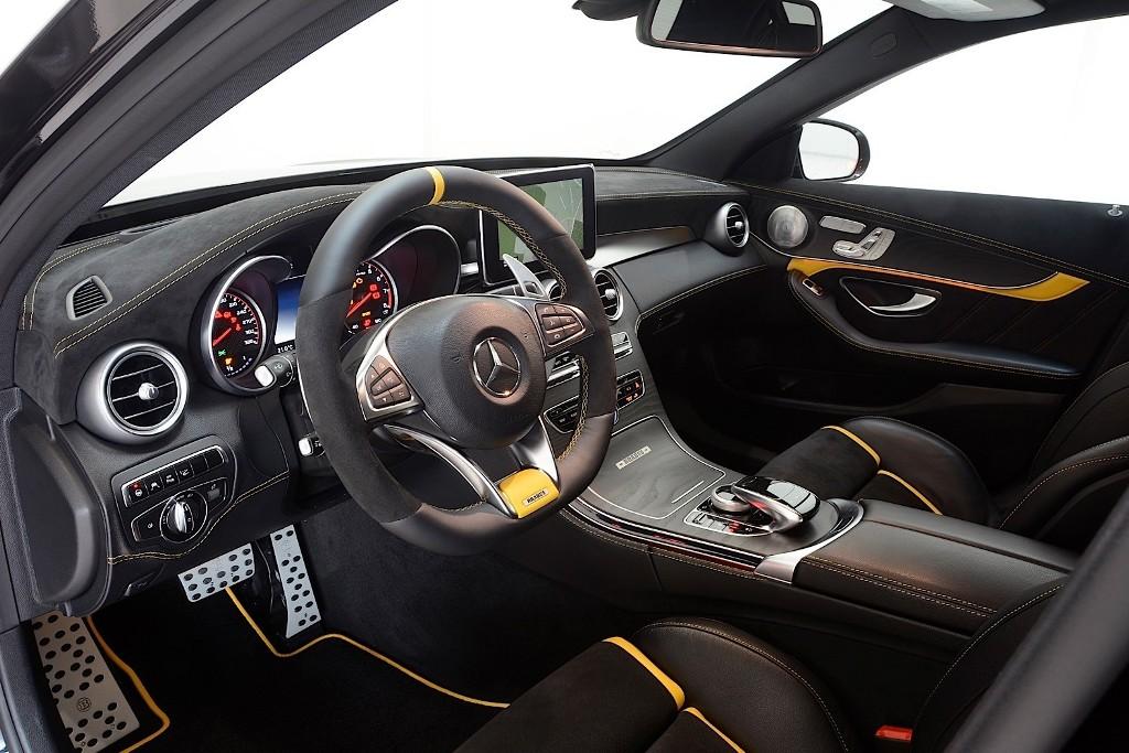 Brabus Tunes Mercedes Amg C63 Benzinsider Com A