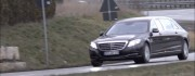 Mercedes-Maybach S600 Pullman Caught On Cam