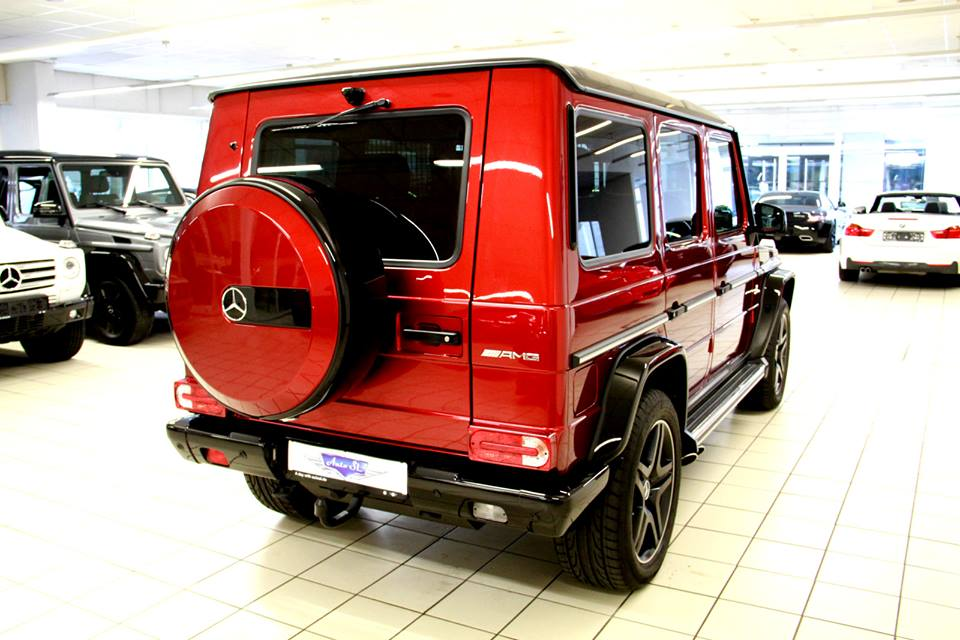Tomato Red Mercedes Benz G63 Amg Available In The Market