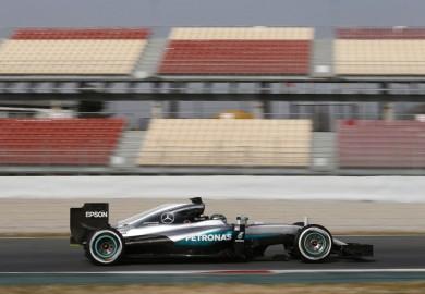 Mercedes AMG Petronas F1 Barcelona testing Nico Rosberg