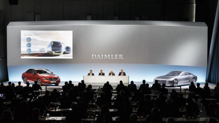 Daimler Annual Press Conference, Stuttgart February 4, 2016