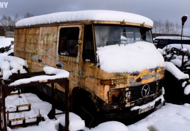 Mercedes-Benz 407D Brought Back To Life