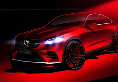 Last Teaser For The Mercedes-Benz GLC Coupe