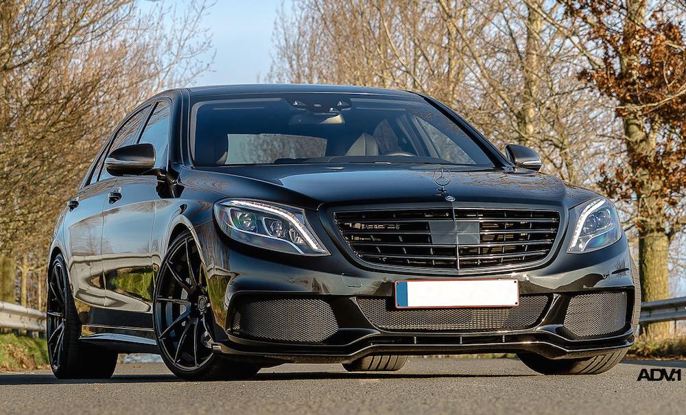 Mercedes-Benz S63 AMG Look Enhanced By ADV1 Wheels