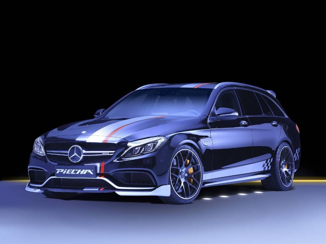 "Piecha Design Unveils Mercedes-AMG C63 Estate ""Rottweiler"""