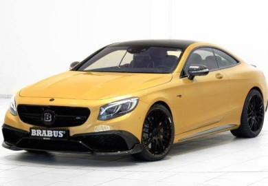 Brabus Mercedes-Benz S63 Coupe 850 Spotted