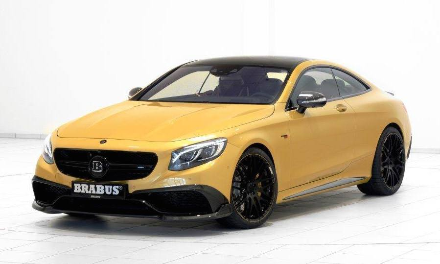 Brabus Mercedes Benz S63 Coupe 850 Spotted Benzinsider