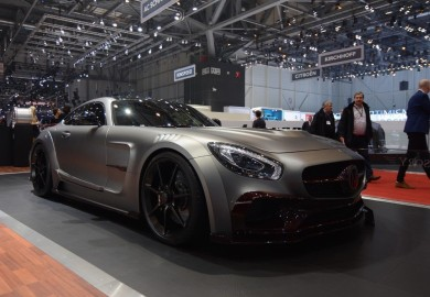 Mansory Unveils Tuned Mercedes-AMG GT S