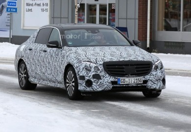 Camouflaged Mercedes-Maybach E-Class Caught On Cam