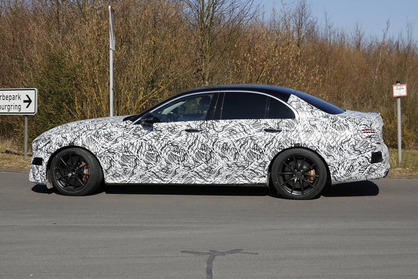 Latest Spy Shots Of 2018 Mercedes Amg E63 Sedan And Estate Emerge