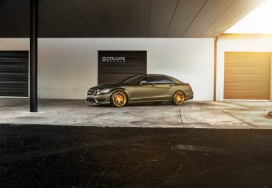 Mercedes-Benz CLS63 AMG Given SM5 Deep Concave Wheels By Strasse