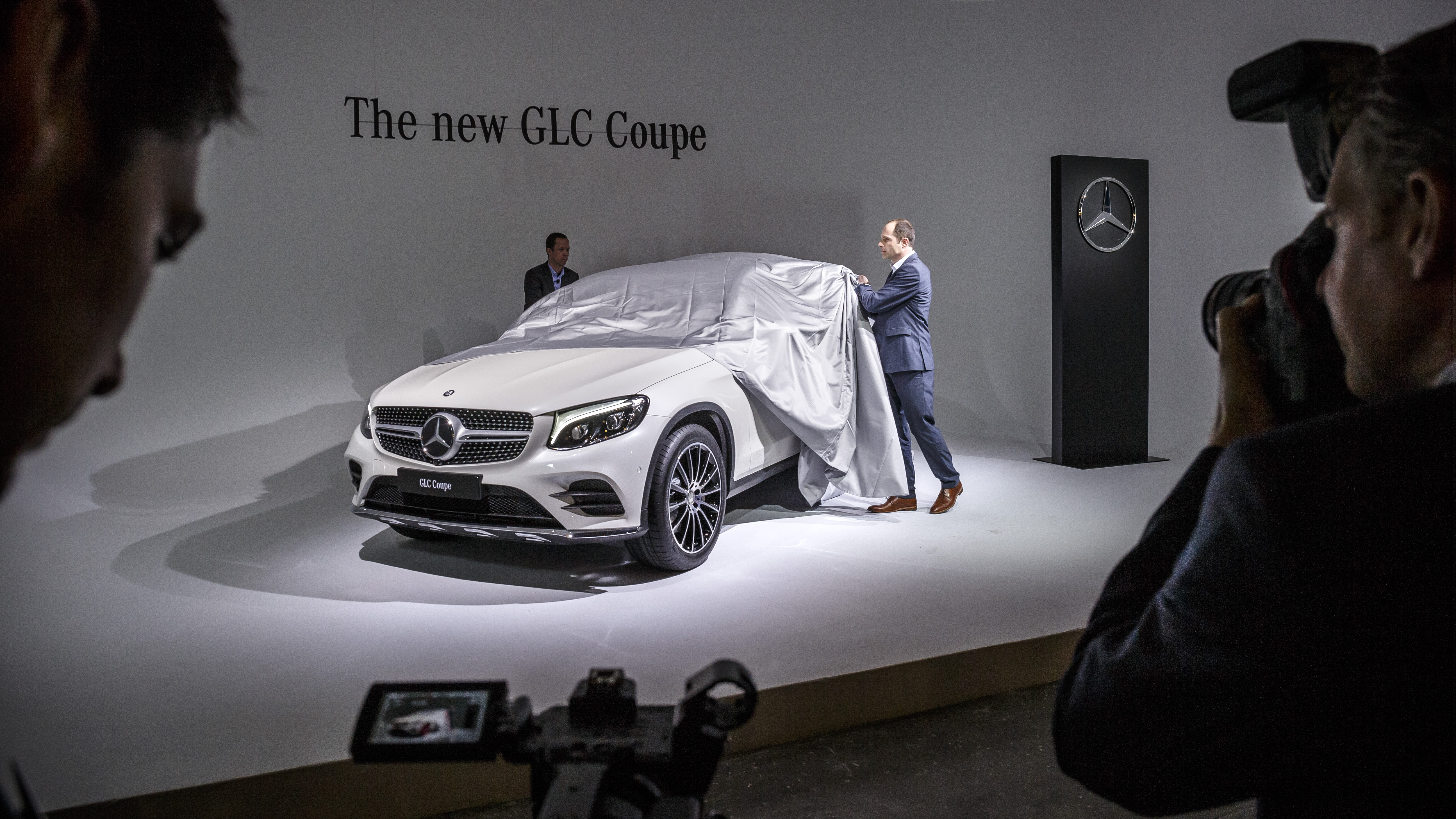 Weltpremiere des Mercedes-Benz GLC Coupé am Vorabend der New York International Auto Show 2016: World Premiere of the Mercedes-Benz GLC Coupé on the eve of the 2016 New York International Auto Show: