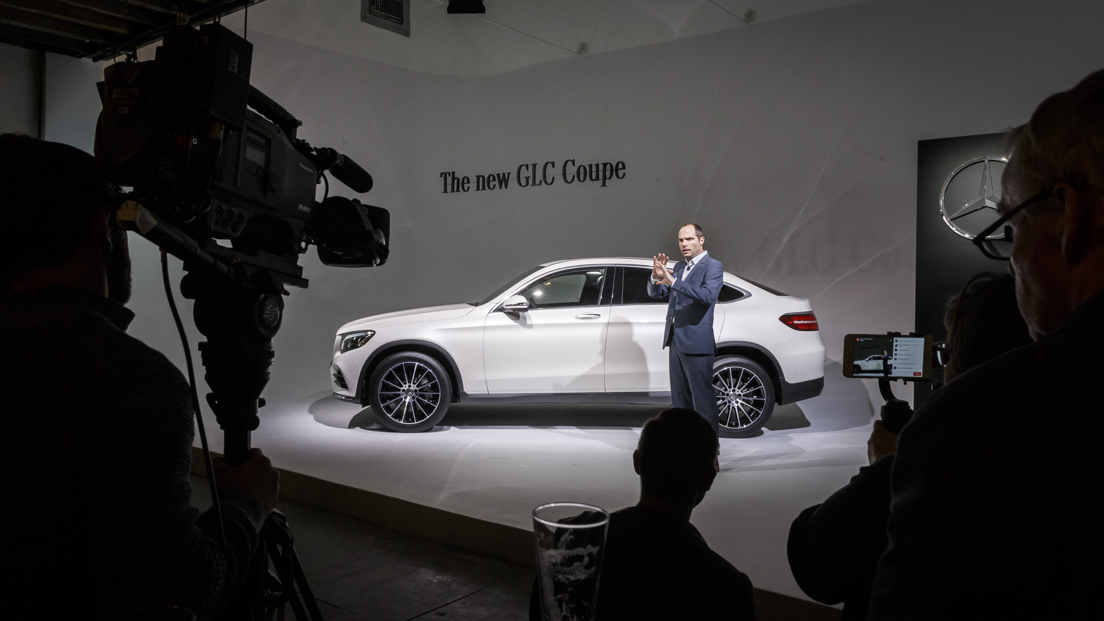 Weltpremiere des Mercedes-Benz GLC Coupé am Vorabend der New York International Auto Show 2016: Robert Lesnik, Leiter Exterieur Design   World Premiere of the Mercedes-Benz GLC Coupé on the eve of the 2016 New York International Auto Show: Robert Lesnik, Head of Exterior Design