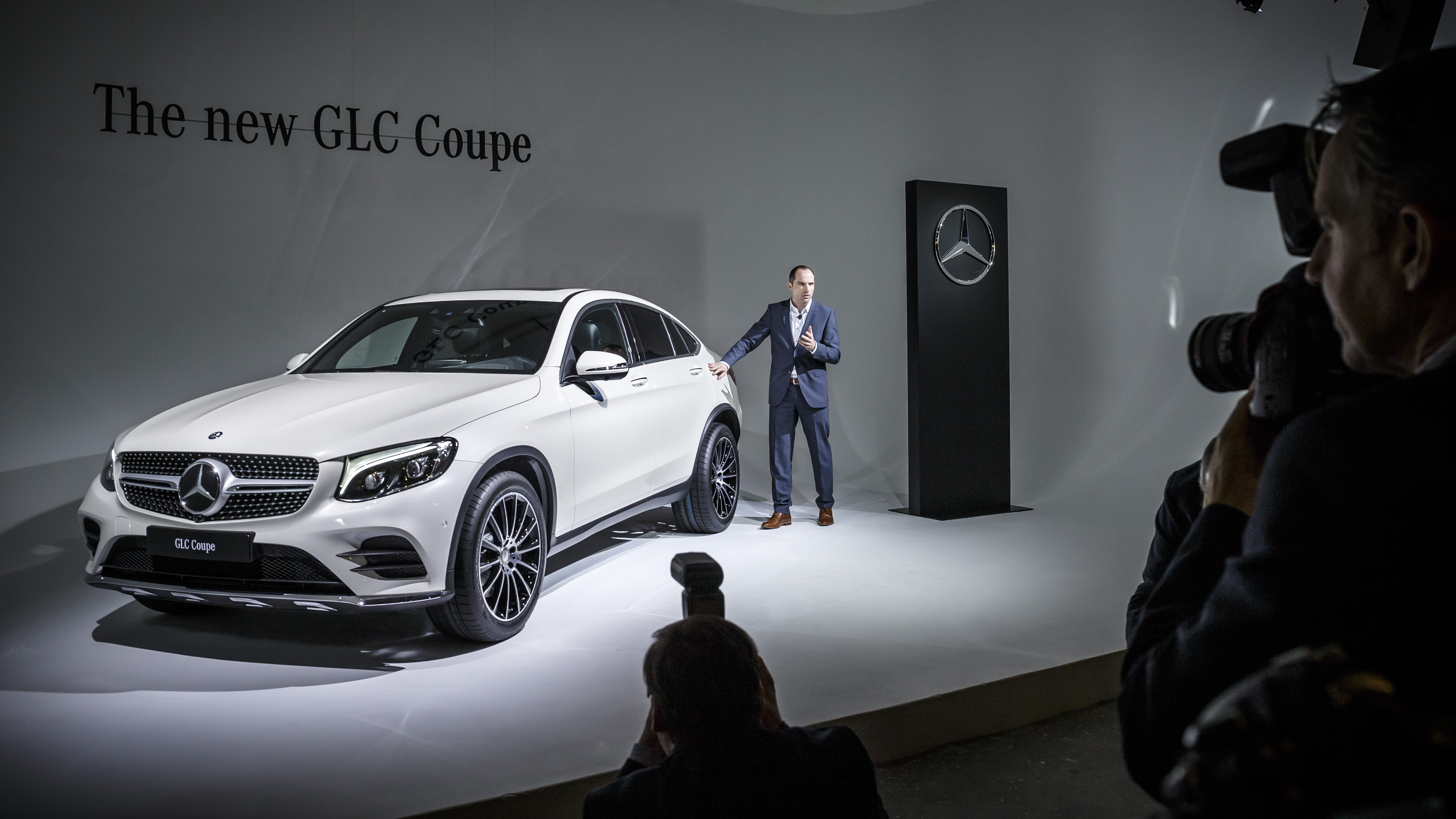 Weltpremiere des Mercedes-Benz GLC Coupé am Vorabend der New York International Auto Show 2016: Robert Lesnik, Leiter Exterieur Design   World Premiere of the Mercedes-Benz GLC Coupé on the eve of the 2016 New York International Auto Show: Robert Lesnik, Head of Exterior Design