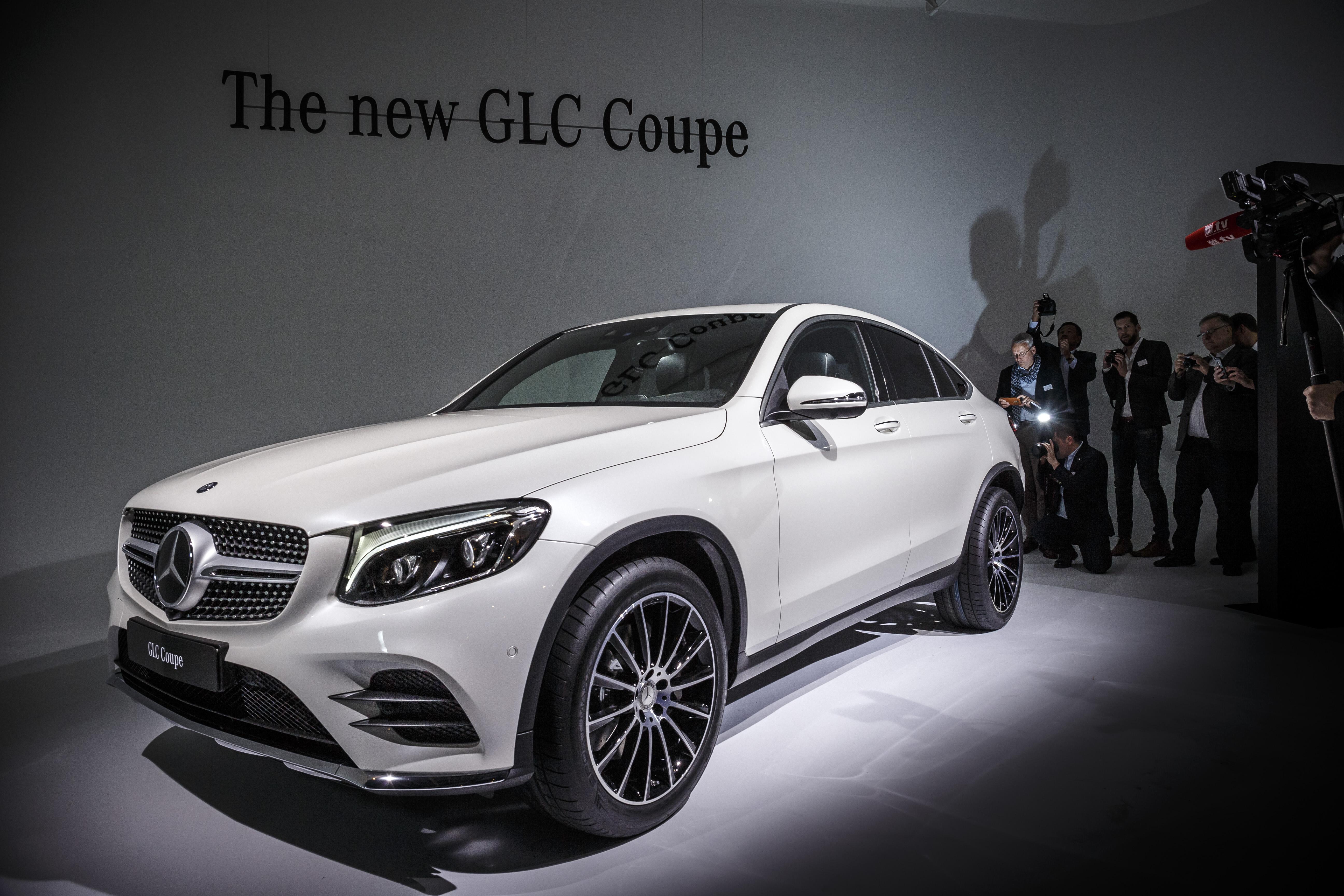 Weltpremiere des Mercedes-Benz GLC Coupé am Vorabend der New York International Auto Show 2016: World Premiere of the Mercedes-Benz GLC Coupé on the eve of the 2016 New York International Auto Show: