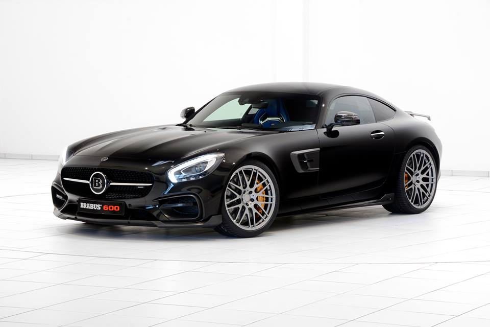 Mercedes Amg Gt Tuned By Brabus Benzinsider Com A