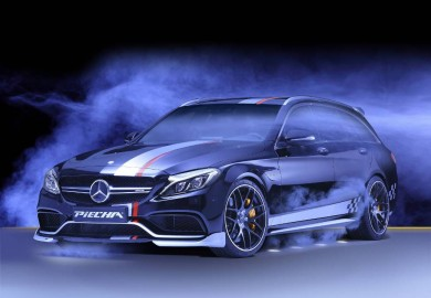 "Piecha Design Unveils Mercedes-AMG C63 Estate ""Rottweiler"""